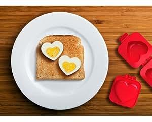 Eierformer Herz für das kreative Liebes Frühstück