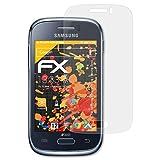 atFolix Schutzfolie für Samsung Galaxy Young/Young Duos Displayschutzfolie - 3 x FX-Antireflex blendfreie Folie