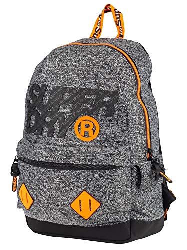 Superdry Hombre City Montana Backpack, Gris