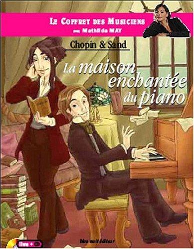Le coffret des musiciens avec Mathilda May - La maison enchante du piano
