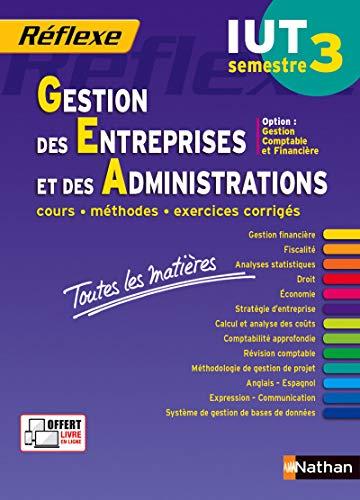 Toutes les matières IUT Gestion des Entreprises et des Administrations – Semestre 3 - Option CF