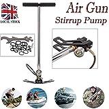 PCP 3Stage Air Gun Steigbügel Ladegerät Hand Pumpe Gewehr airrifle Gas Filter 4500psi