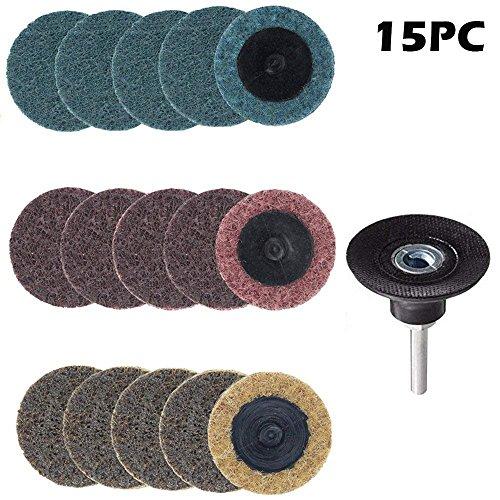 Roloc Surface Prep Disc (Yakamoz Schleifscheibe, 2 Zoll, inkl. Roloc-Schleifteller, Others)