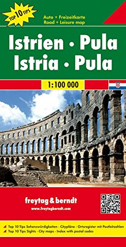 Istrie Pula : 1/100 000