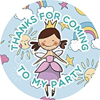 Cute Fairy Ballerinas V4 Sticker Labels Non Personalised Seals Ideal for Party Bags Sweet Cones Favours Jars Presentations Gift Boxes Bottles Crafts