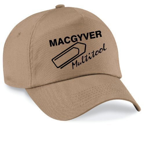 Basecap MAC GYVER Multi Tools Cap Capy Größe Unisex, Farbe sand