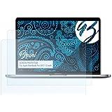 Bruni Apple MacBook Pro 2017 13 inch Film Protecteur - 2 x cristal clair Film Protection d'écran Protecteur d'écran