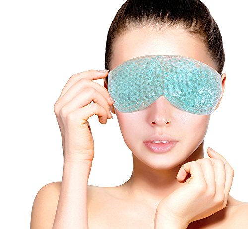 Gel Eye Mask Cold Pack Warm Hot Heat Ice Cool Thermabead Soothing Tired Eyes Pad  available at amazon for Rs.199