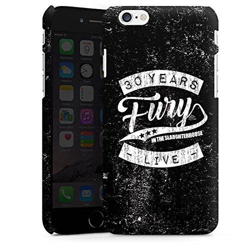 Apple iPhone 5 Silikon Hülle Case Schutzhülle 30 years fury in the slaughterhouse fanartikel merchandise Premium Case matt