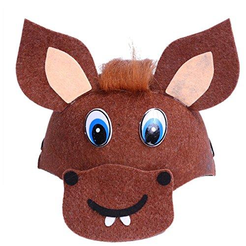 Halloween-Party Verkleiden Sich Kinder Kaninchen Maus Cartoon Hut Niedlichen Kleinen Tier Kopfschmuck,N