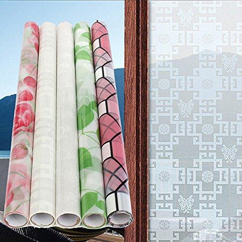 Calli Dekorative Fenster Aufkleber Dull polnischen Flügel Datenschutz Buntglas Film