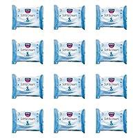 12 x Toallitas Higiénicas Nivea baby Soft y Cream Toallitas para bebé niños