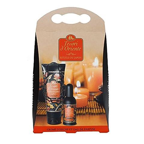 Tesori d'Oriente Coffret Cadeau Crème Douche Hydratante et Eau de