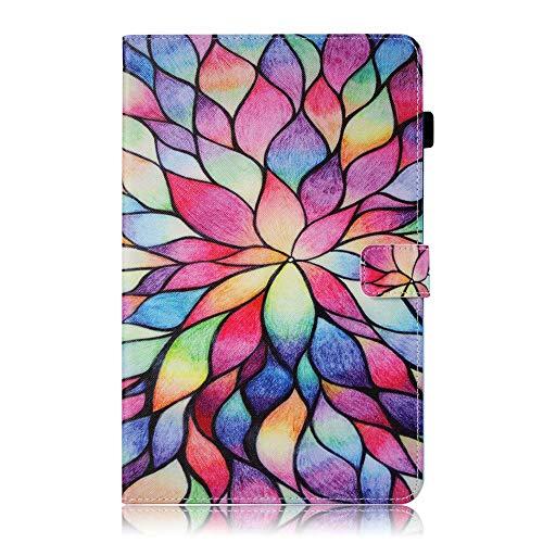 Valenth Galaxy Tab S4 T835 Hülle, Brieftasche Cover mit Standfunktion und Kreditkartensteckplätze für Samsung Galaxy Tab S4 10.5 T835 / T830 2018 Release