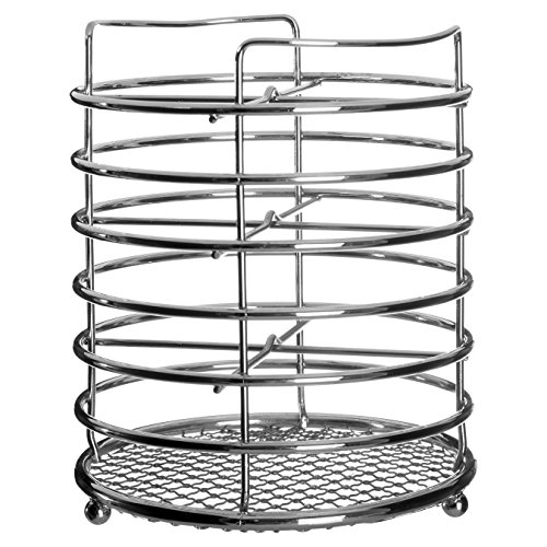 Premier Housewares Cutlery Caddy - Chrome