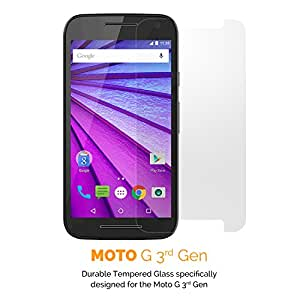 GADEX Advanced- High Quality Tempered Glass Screen Protector for Moto G 3rd Generation