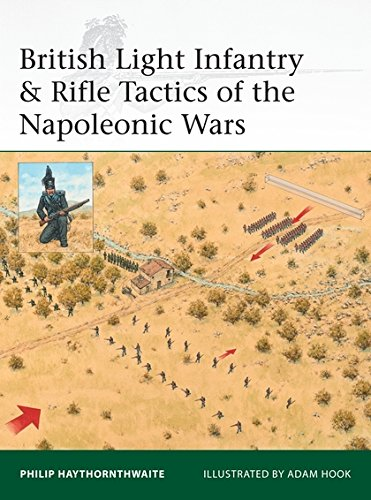 British Light Infantry & Rifle Tactics of the Napoleonic Wars (Elite) por Philip Haythornthwaite
