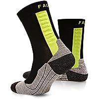 Falke Achilles Herren, Sportsocken & Achillessehnen-Bandage in einem, lindert Schmerzen an der Achillessehne beim Laufen / Sport, Fußbandage, anatomische Lauf-Socken links und rechts für Männer
