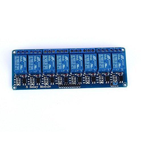 tinxi® 8 Kanal Relais Modul 5V DC 230V Optokoppler passend für Arduino Raspberry Pi Dc-relais