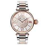 Thomas Sabo Damen-Armbanduhr Watches Analog Quarz Edelstahl beschichtet WA0257-277-201-38mm