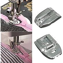 Prensatelas para cremalleras invisibles de Mark8shop, herramienta para máquinas de coser