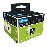 Dymo LabelWriter etichette per badge non adesive, 62 x 106 mm (rotolo da 250), stampa nera su bianco, S0929110