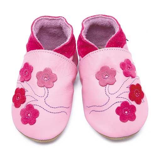 Inch Blue, Mädchen Babyschuhe - Krabbelschuhe & Puschen  rosa 19-20 cm