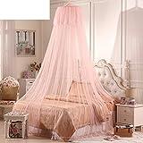 ODIUHEOHF Baby moskitonetz baby kleinkind kinderbett kuppel betthimmel netting keinen biss mir bug repellent-A 180x200cm(71x79inch)