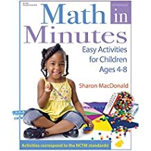 Math in Minutes: Easy Activities for Children Ages 4-8 (English Edition)