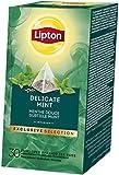 Lipton Pfefferminze Kräutertee Pyramidbeutel, 2er Pack (2 x 96 g)