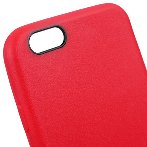 Phone case & Hülle Für iPhone 6 / 6S, Anti-Rutsch mattiert TPU Fall ( Color : Green ) Red