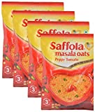 #8: Big Bazaar Combo - Saffola Masala Oats Peppy Tomato, 40g (Pack of 4) Promo Pack