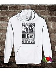 Felpa uomo-donna The Clash