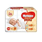 #8: Huggies Ultra Soft XS Size Diaper Pants (20 Count)
