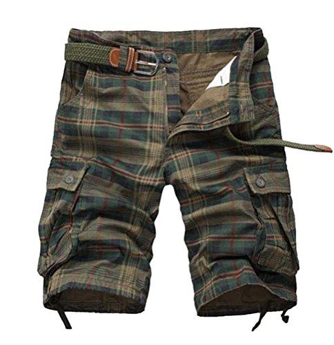 Brinny -  Pantaloncini  - Uomo Verde scuro