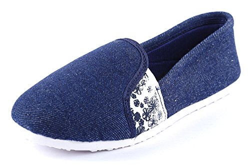Globalite Women'S Dash Navy Casual Loafer Gsc0575 Uk/In-6  available at amazon for Rs.199