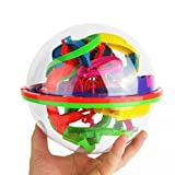 Juguetes del bebé,100 barreras 3D laberinto magia intelecto bola equilibrio laberinto perplejidad...