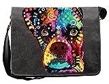 Lässige Umhängetasche mit einem Boxer Hunde Motiv! Das Multitalent - Tasche für Schule, Beruf, Urlaub, Freizeit, Notebook, Tablet