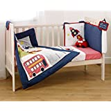 Suncrest Fetch the Engine Boy's Cotbed Bedding Set (5 piece)