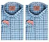 London Bridge Men's Formal Shirt, Set of...