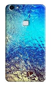 Vivo V7 Plus Printed Back Cover (Soft Back) by TECHMOBILE