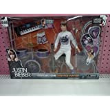 Justin Bieber Real Hair Concert Tour Onstage Playset by Bridge Direct