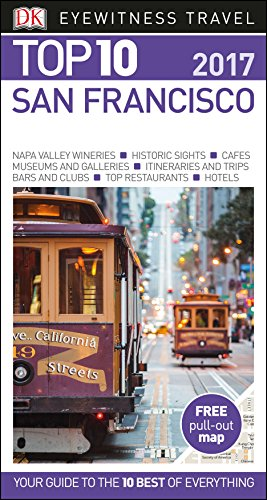 San Francisco: Top 10 Eyewitness Travel Guide (Eyewitness Top 10) por Anónimo