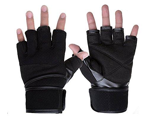 TININNA Herren Militär Tactical Fingerlose Fitness Handschuhe Trainings Handschuhe Fitnesshandschuh Trainingshandschuhe Gym Handschuhe Power Handschuhe Sport Handschuhe L