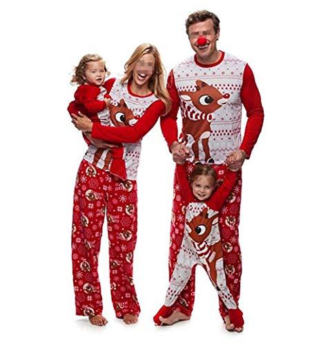 Pijamas Dos Piezas Familiares de Navidad