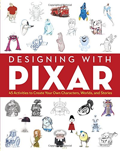 Designing with Pixar: Colouring Book (Colouring Books)
