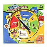 GIALLO Fidget Dito Tri Spinner ufficio scuola Stress Ansia Depressione giocattolo