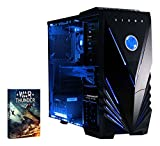 Vibox Extreme 1 PC da Gaming, Processore Blu AMD FX 4300 Quad Core, RAM 8 GB, HDD 1TB, Scheda Grafica Nvidia GeForce GTX 960 da 2 GB, Blu