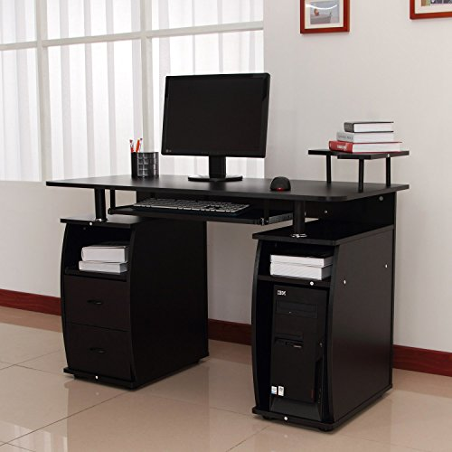 in walmart computer desk com to workstation popular onsingularity pertaining homcom standing portable