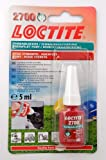 Loctite 2700 OEM Specified High Strength Thread Lock & Sealant - Stud / Nutlock - FREE FIRST CLASS UK POSTAGE! by Loctite